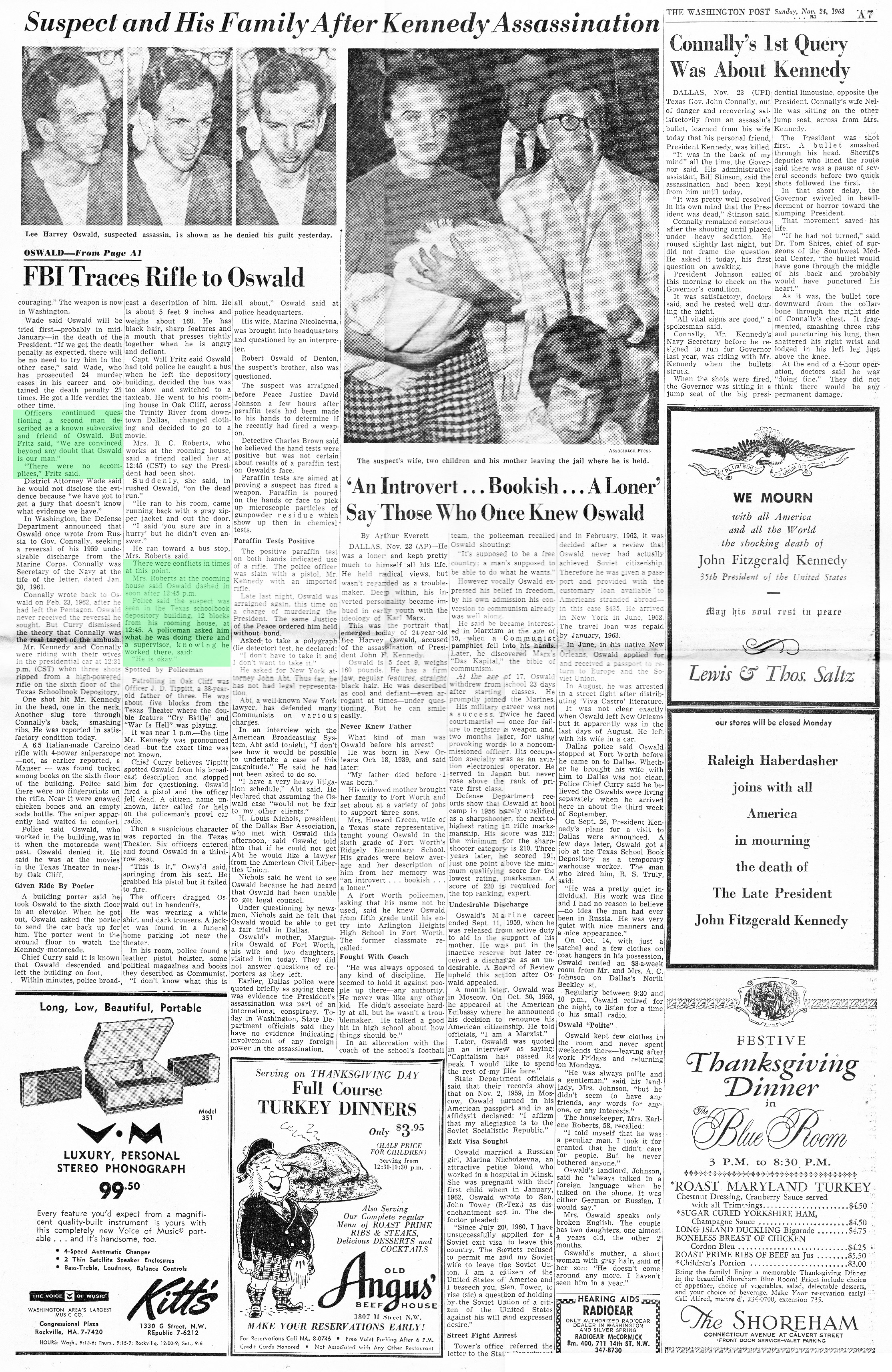 WAshington-Post-Nov-24-1963-page-7-ROKC-